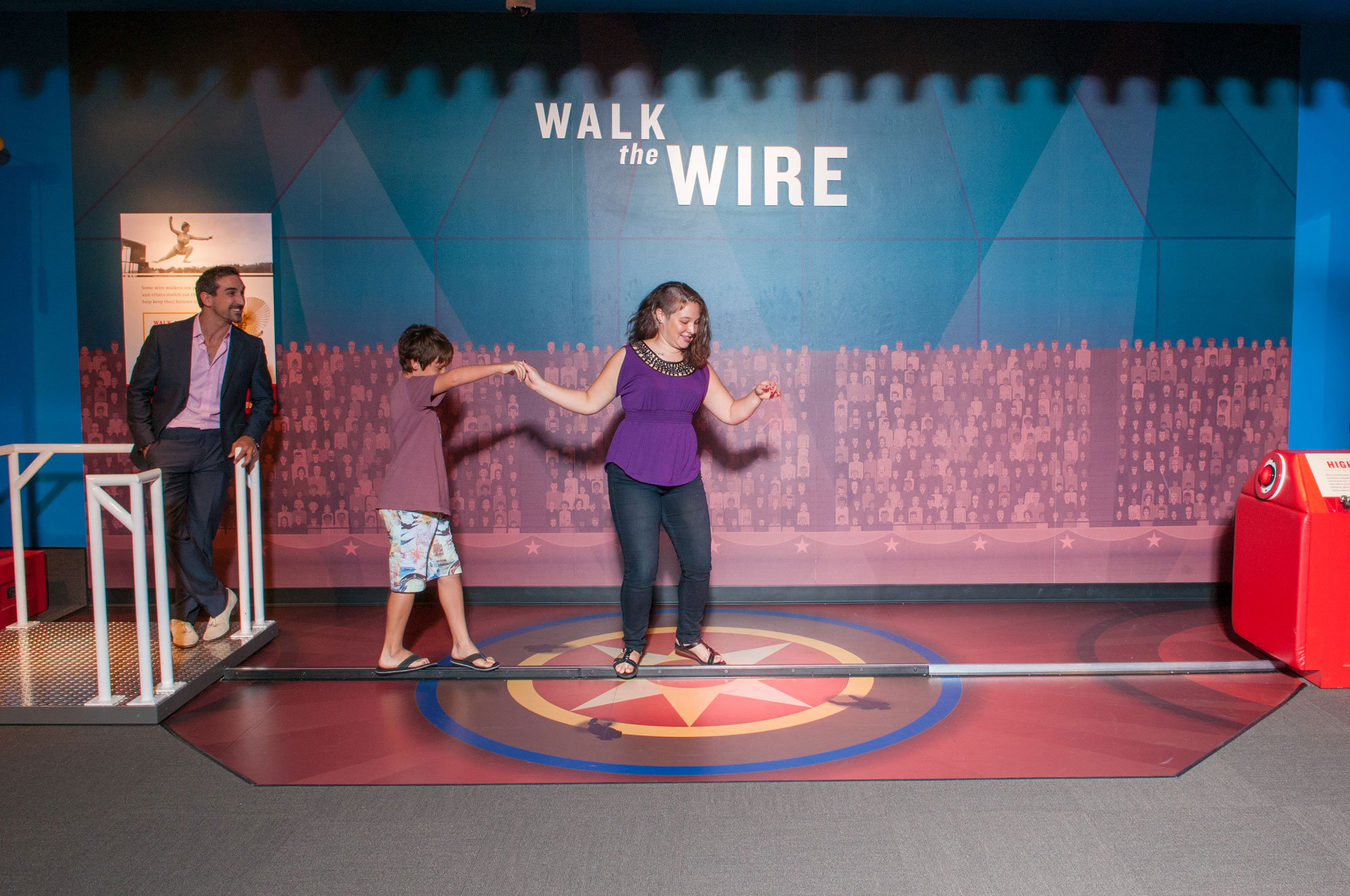 Interactive Gallery in the Tibbals Learning Center circus museum at The Ringling
