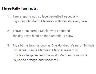 Kelly Fun Facts