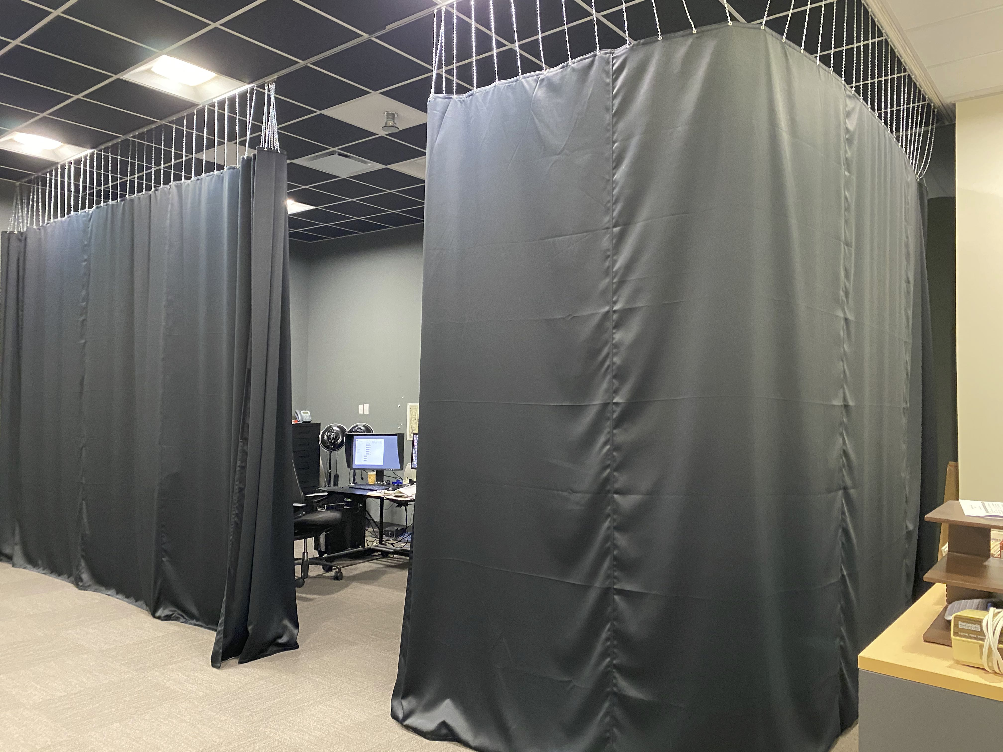 Blackout curtains installed in The Ringling Archives