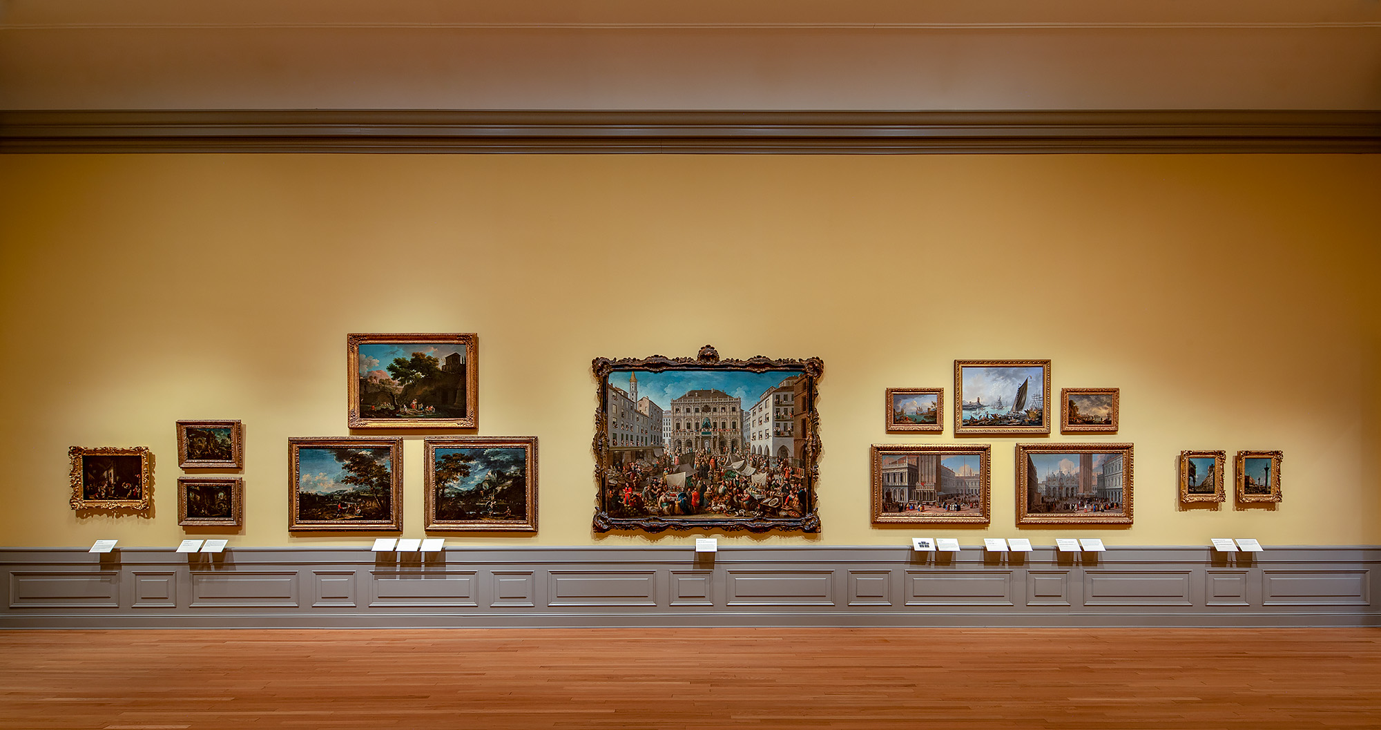 Gallery 18 of The John and Mable Ringling Museum of Art, Photo Copyright Ron Blunt