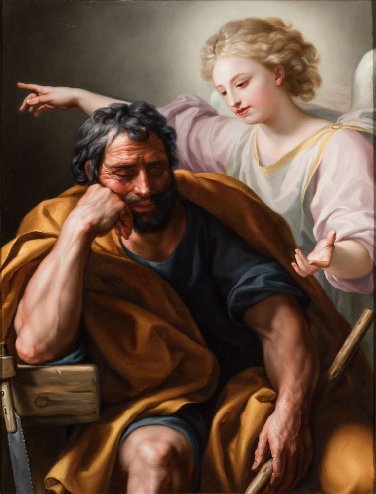 Dream of Joseph, by Anton Raphael Mengs, in the John and Mable Ringling Museum of Art