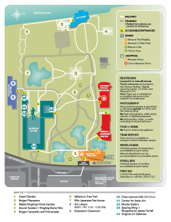 The Ringling Estate Map