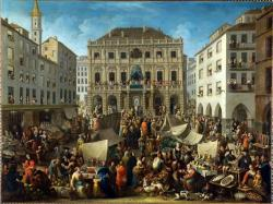 The Lottery Drawing in Piazza Delle Erbe