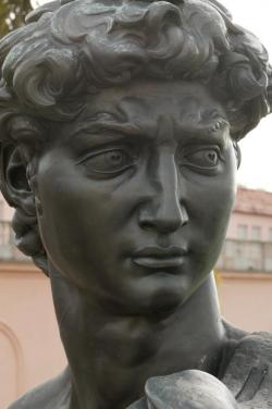 Michelangelo's David, Bronze Copy at The Ringling Museum of Art