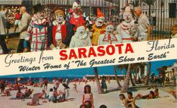 Postcard from the Home of the Greatest Show on Earth