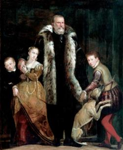 Portrait of a Family Group