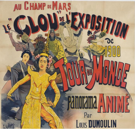 Tour Du Monde Poster Exhibition