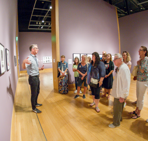 Educators in Gallery