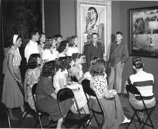 1948 First Annual History of Art Seminar