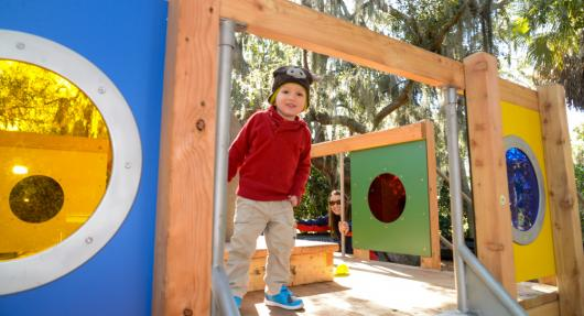 bolger playspace at the ringlingq