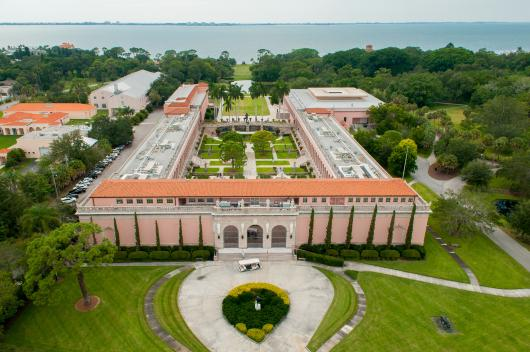 the ringling museum of art aerial