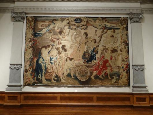 Fides Catholica Tapestry, Later Edition from Peter Paul Rubens Design from Triumph of the Eucharist Series at The Ringling Museum of Art