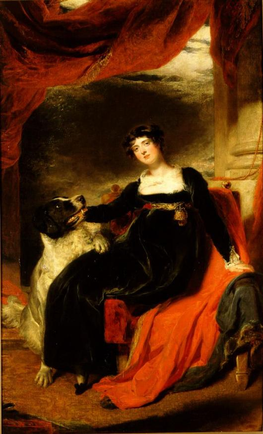 Mrs. George Frederick Stratton, by Thomas Lawrence, 1811 at The Ringling Museum of Art