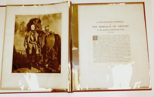 The restored portfolio was put into mylar sleeves for protection