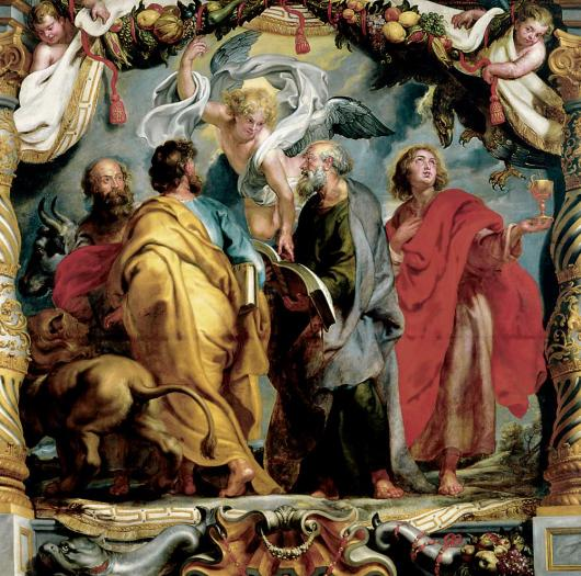 The Four Evangelists by Peter Paul Rubens at The Ringling Museum of Art
