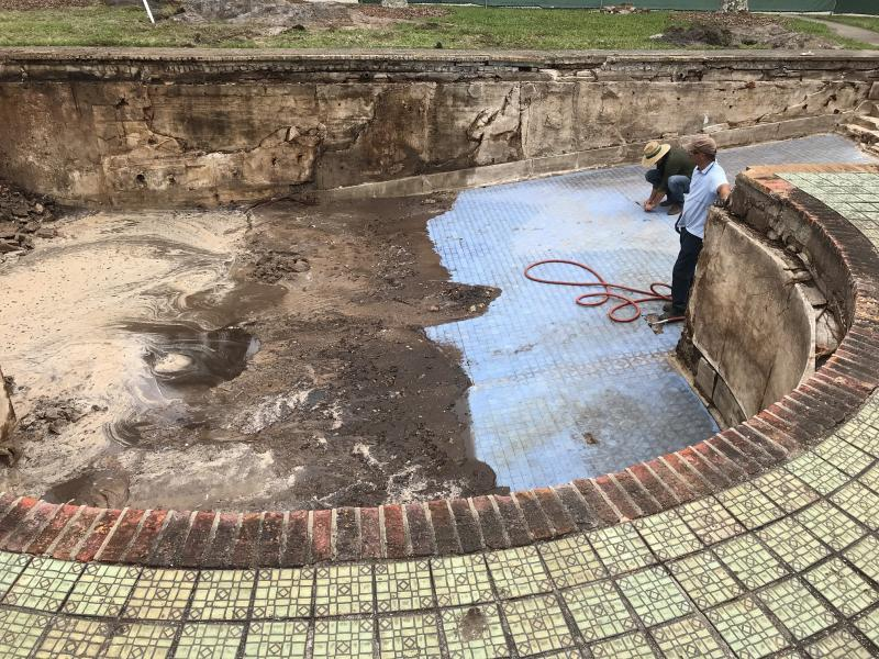 CA' D'ZAN'S SWIMMING POOL IS RESTORED