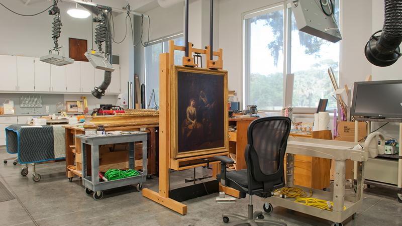 The Ringling Art Conservation Lab