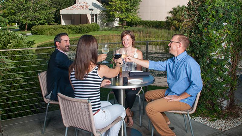Outdoor Dining at Treviso