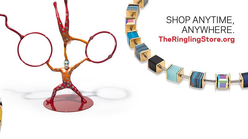 Shop online at theringlingstore.org