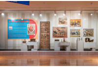 Circus Poster Exhibition A Child's Dream in the Tibbals Learning Center at The Ringling