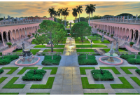 John and Mable Ringling Museum of Art Courtyard