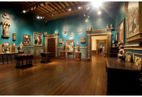 Museum of Art Gallery 3 showing Gothic and Early Renaissance artworks and objects