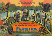 Sarasota Home of Ringling Bors and Barnum & Bailey Circus