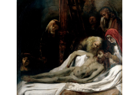 Lamentation over the Dead Christ,c. 1650, workshop of Rembrandt at the John and Mable Ringling Museum of Art