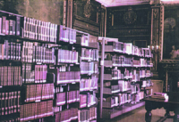 The Old Ringling Art Library in the Astor Galleries of the Museum of Art
