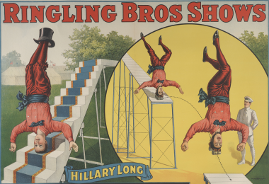 Ringling Bros Shows poster