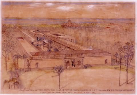 John H. Phillips Architectural drawings commissioned by John Ringling, completed 1928